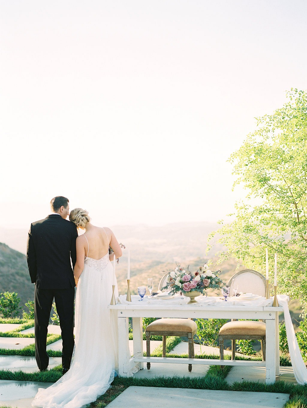 Lilac and Blush in Southern California