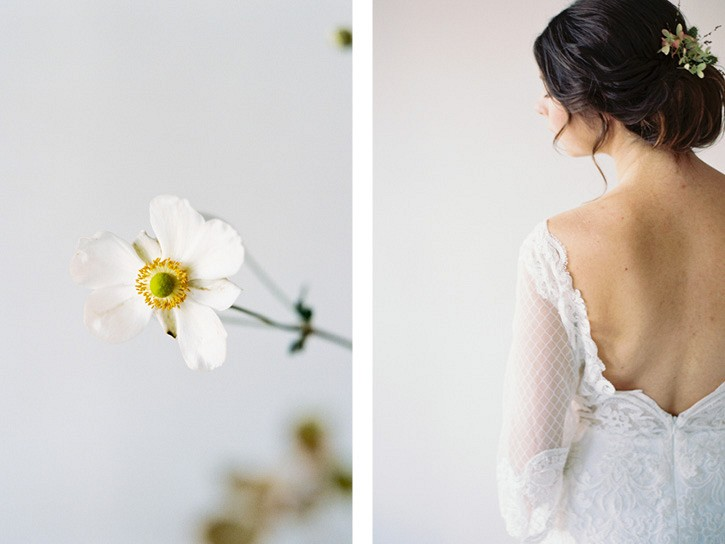 Minimalist Wedding Inspiration for the Hopeless Romantic
