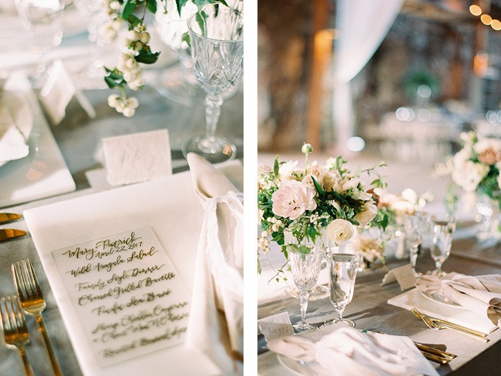 Preppy and Elegant Old Mission Wedding