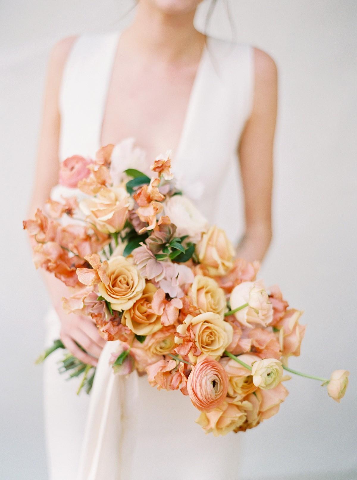 Summer Fine Art Style Wedding Bouquet