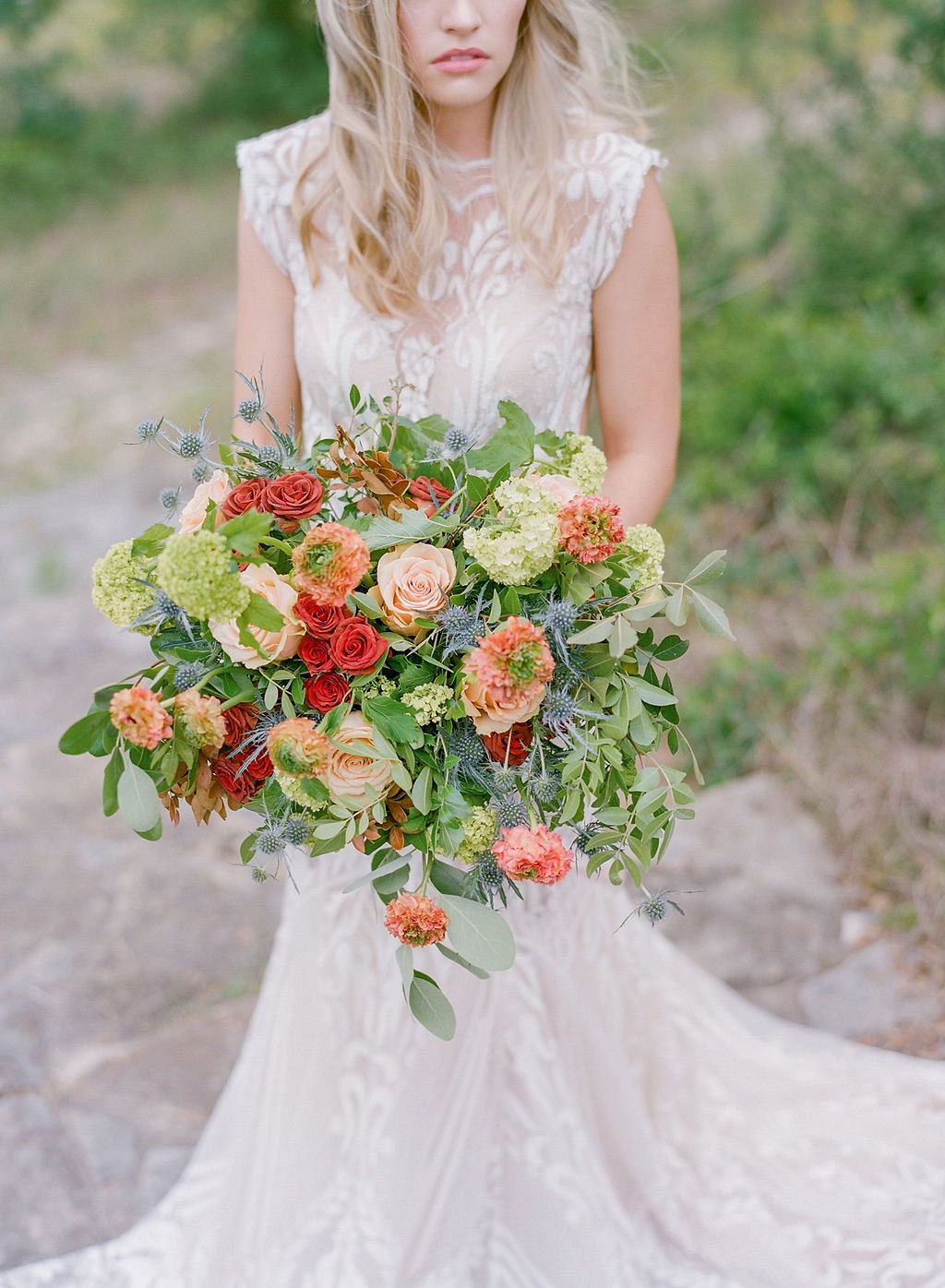 Earthy and Rustic Bridal Style