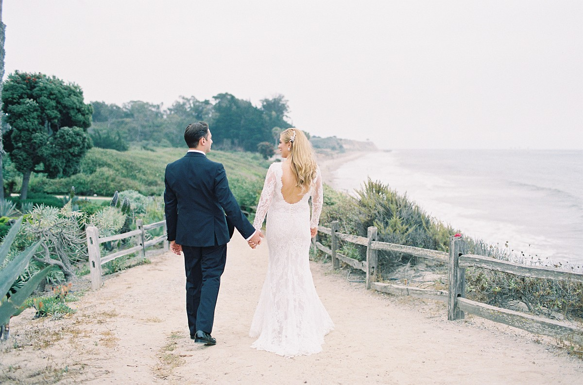 Tropical Styled Santa Barbara Wedding