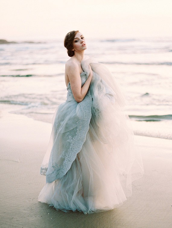 25 Best Colored Wedding Dresses for the Fine Art Bride on Wedding ...