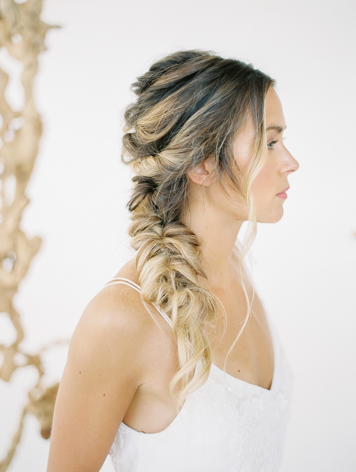 4 Hairstyles for the Fine Art Bride