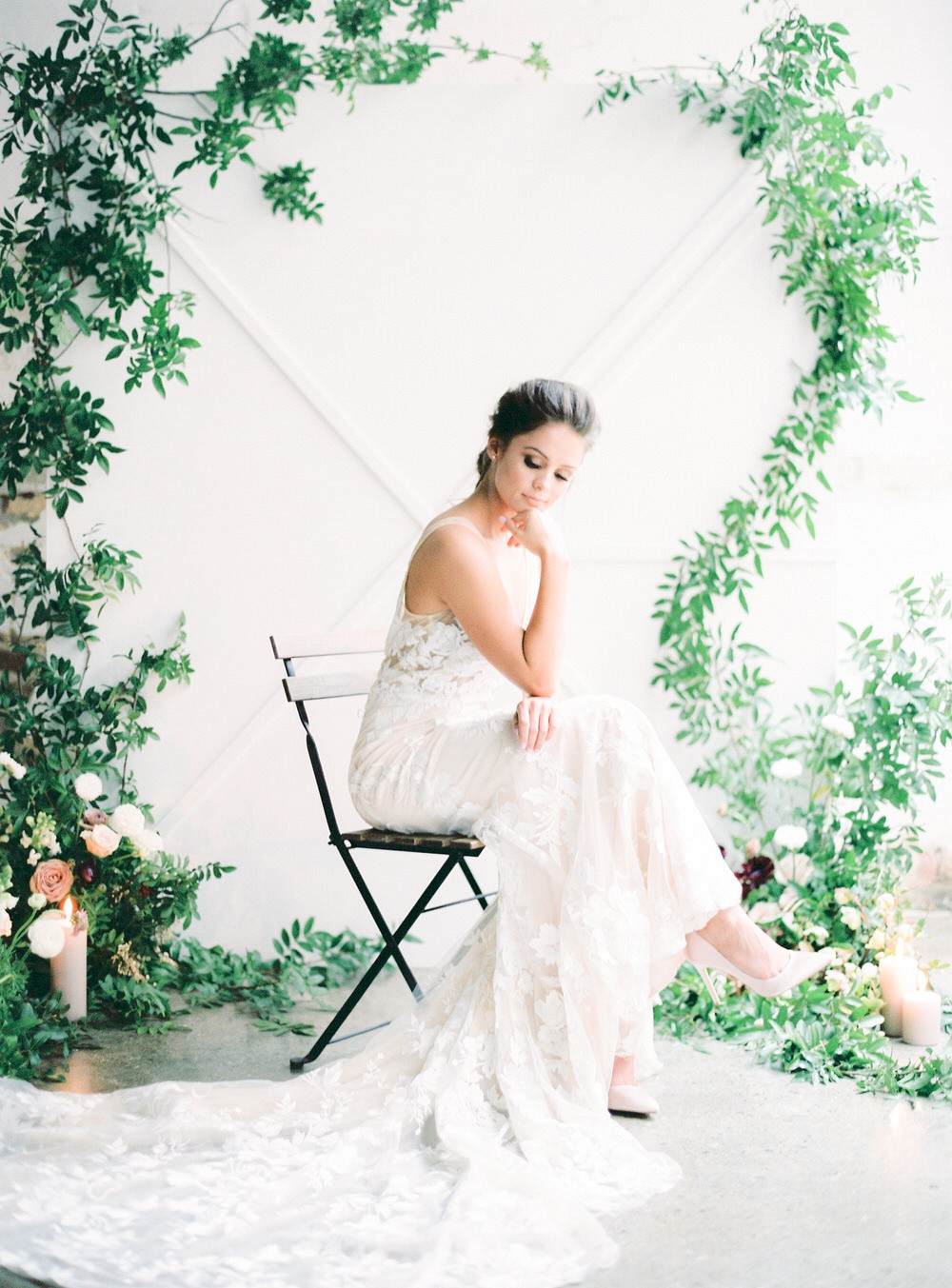 Urban loft wedding style for the fine art bride