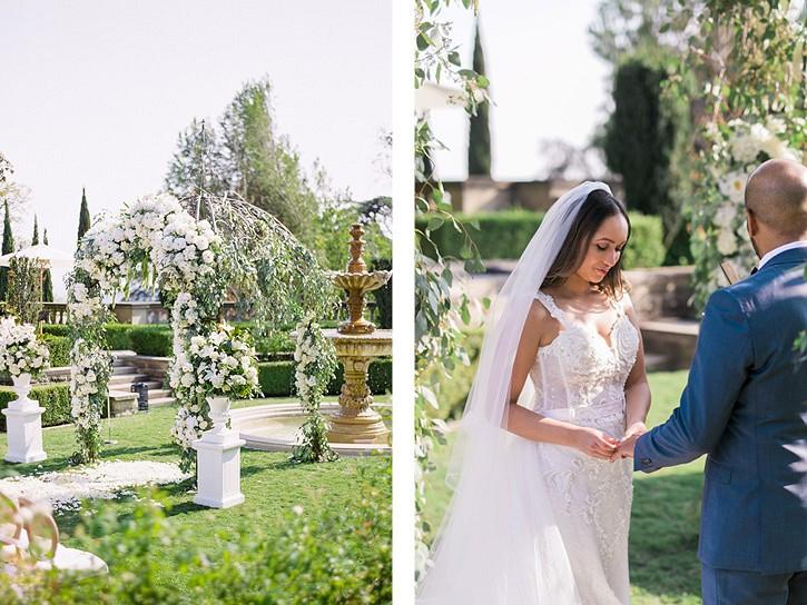 Glamorous Beverly Hills Mansion Wedding