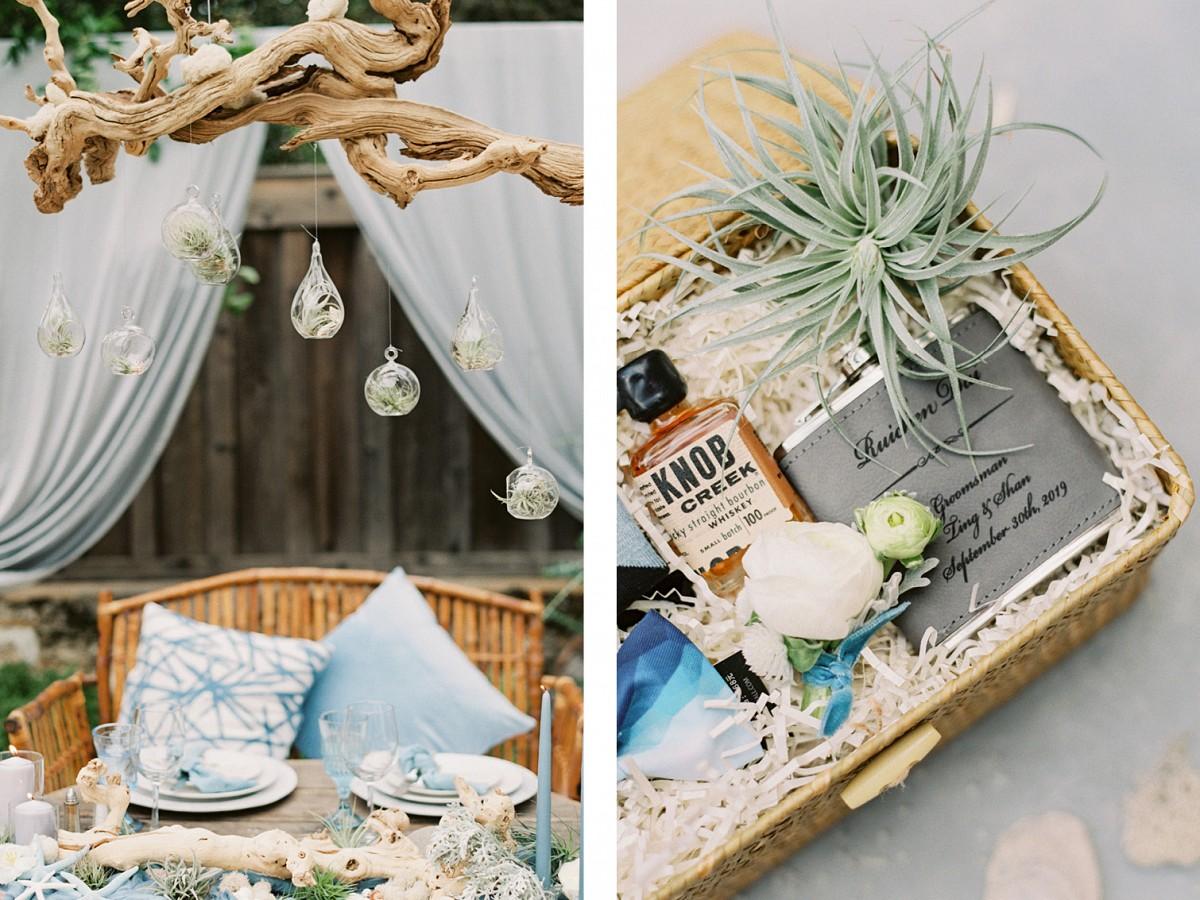 Ranch Wedding with Coastal Decor