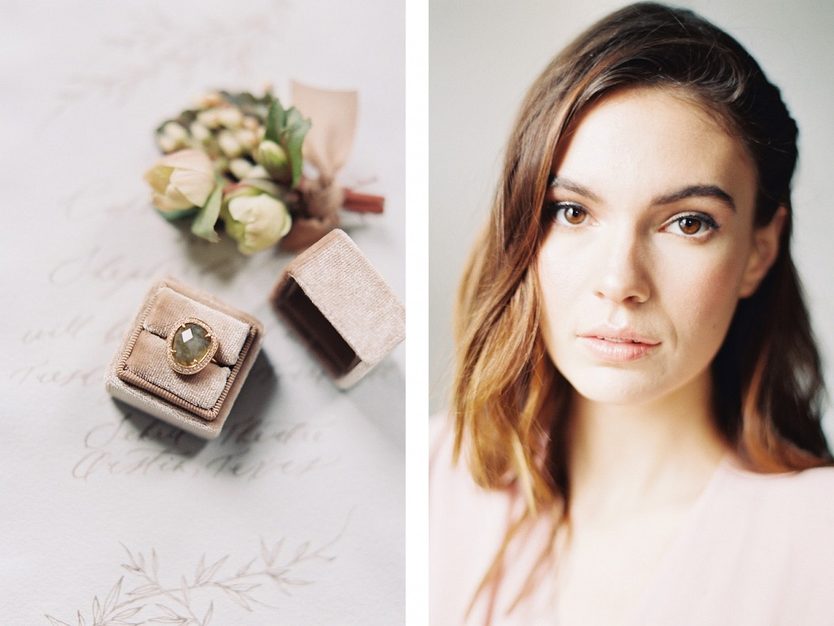 Mulberry floral tones for a Spring Wedding