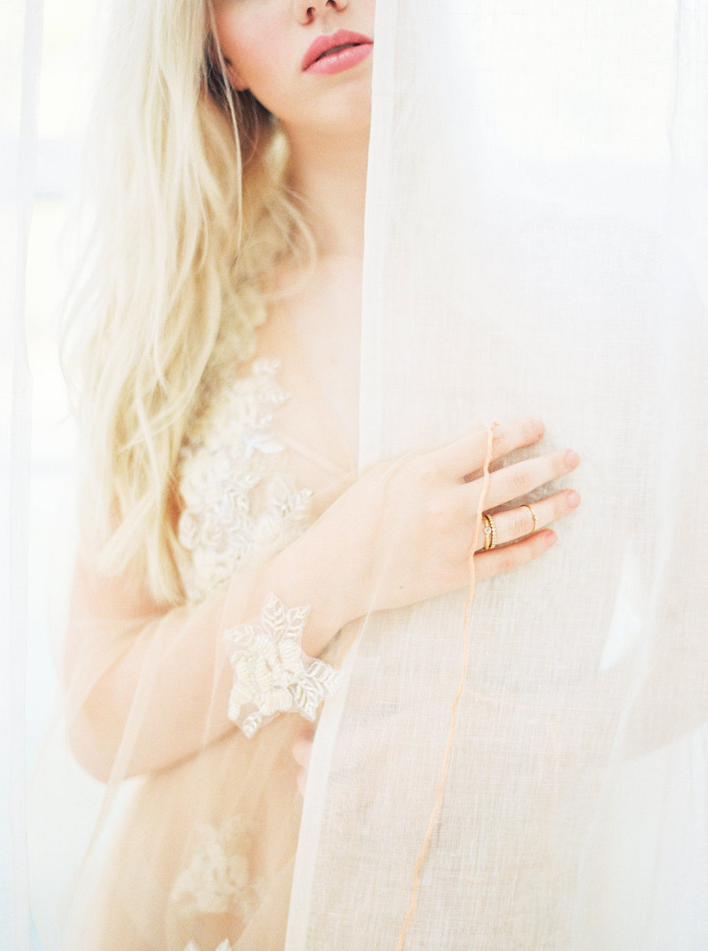 Sun Drenched Bridal Boudoir Session