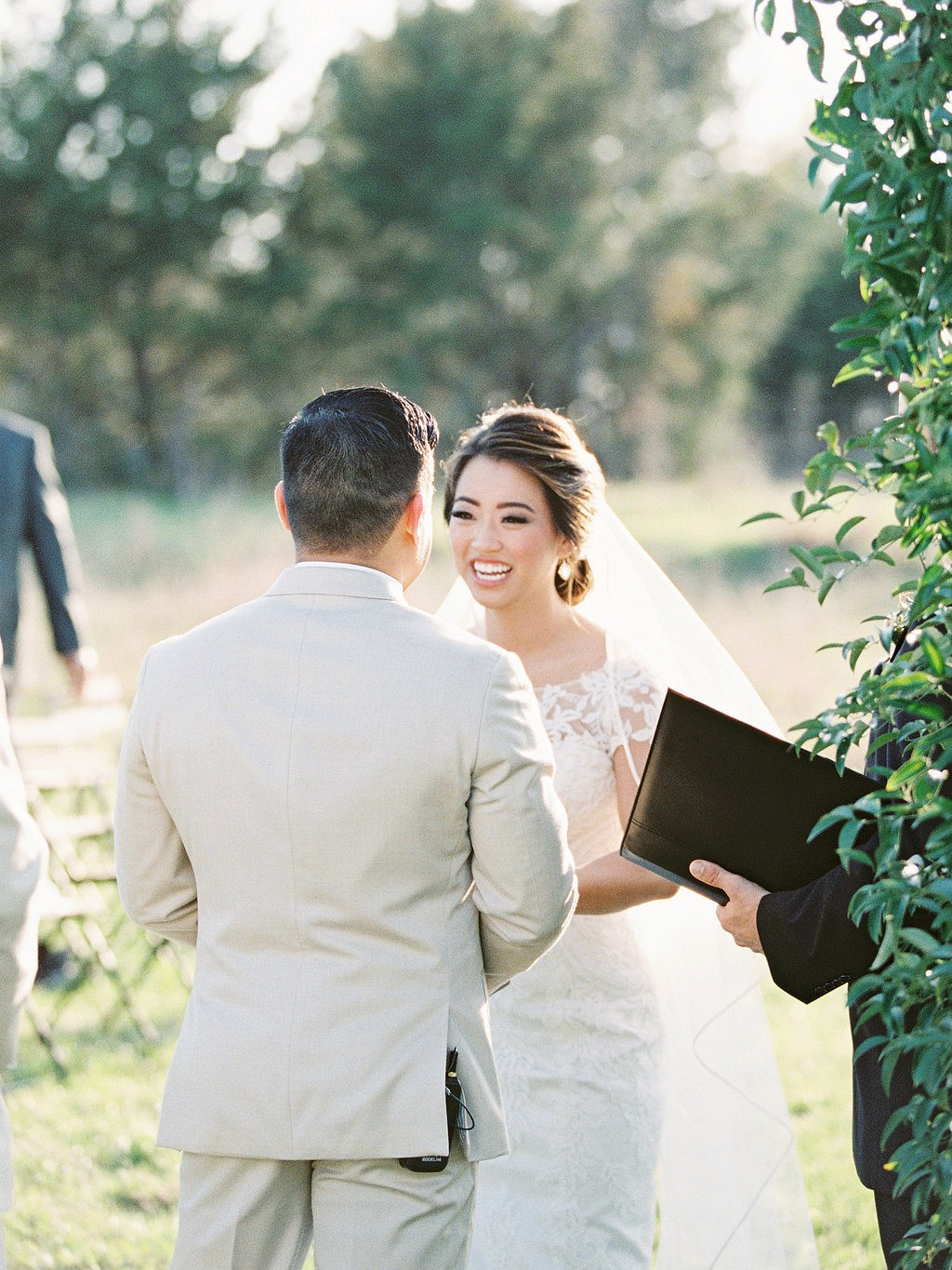 Brandy and Albert's Blush and Neutral Outdoor Wedding