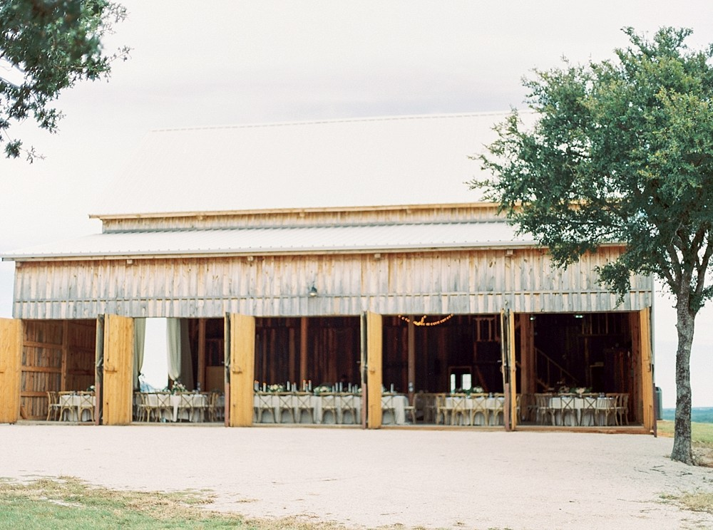 Erin and Josh's Texas Wedding with a Floral Arbor