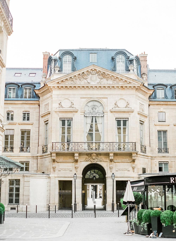 Winter Anniversary in Paris
