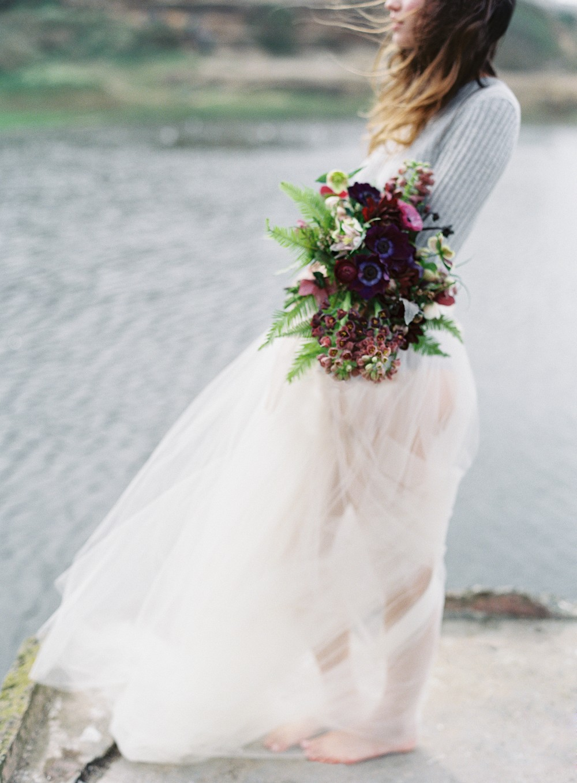 Misty Ocean Bridal Inspiration