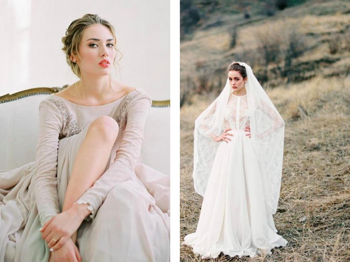 Cathy Telle wedding dress