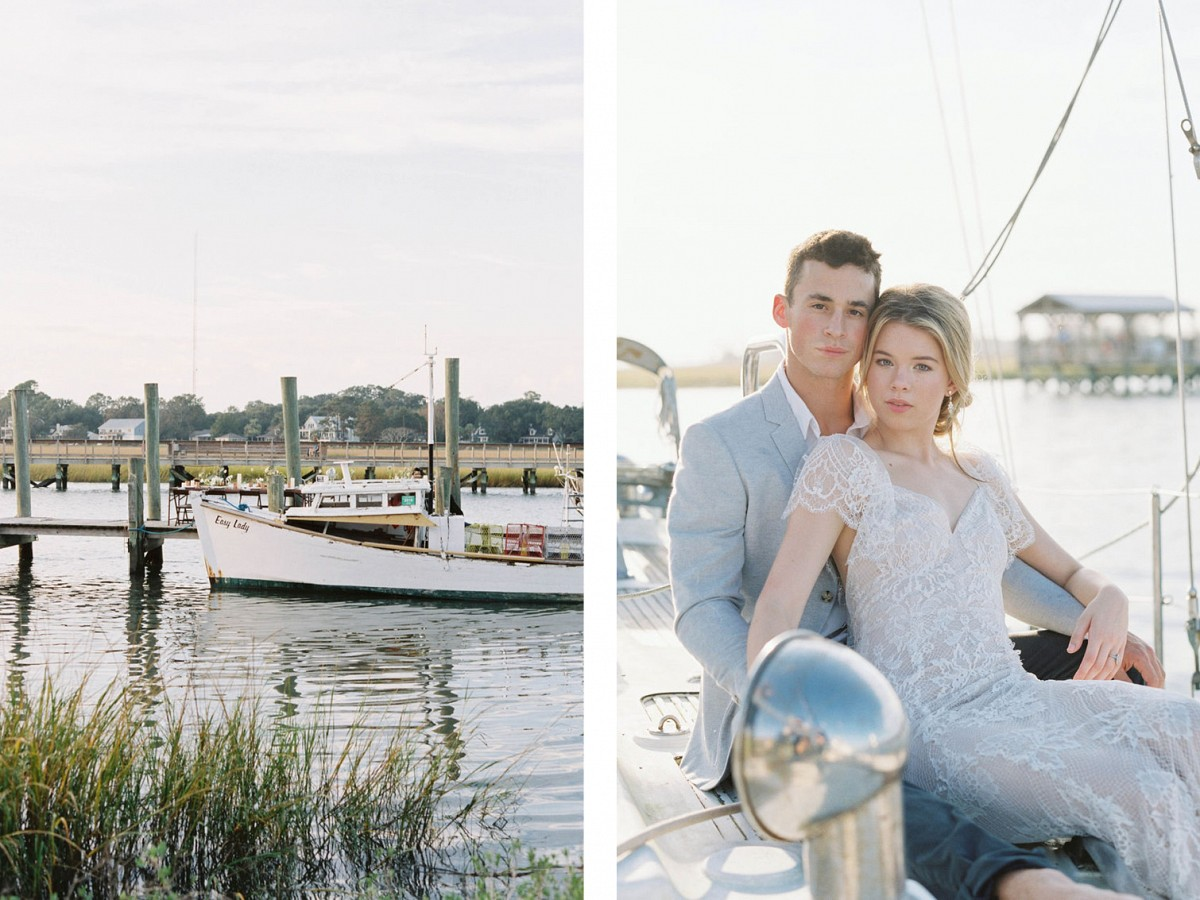 Workshop Vero : Charleston Harbourside Wedding Inspiration