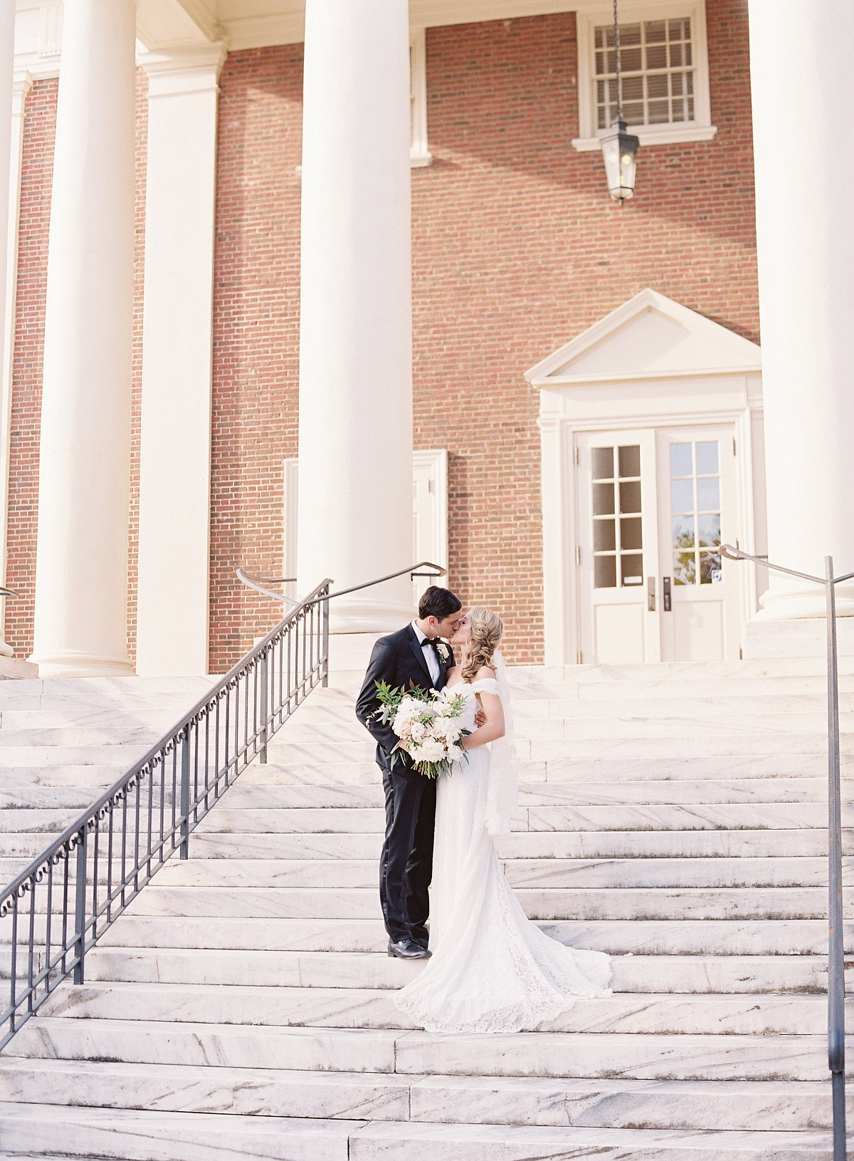 Maria and Michael's Romantic Traditional Charlottesville Wedding
