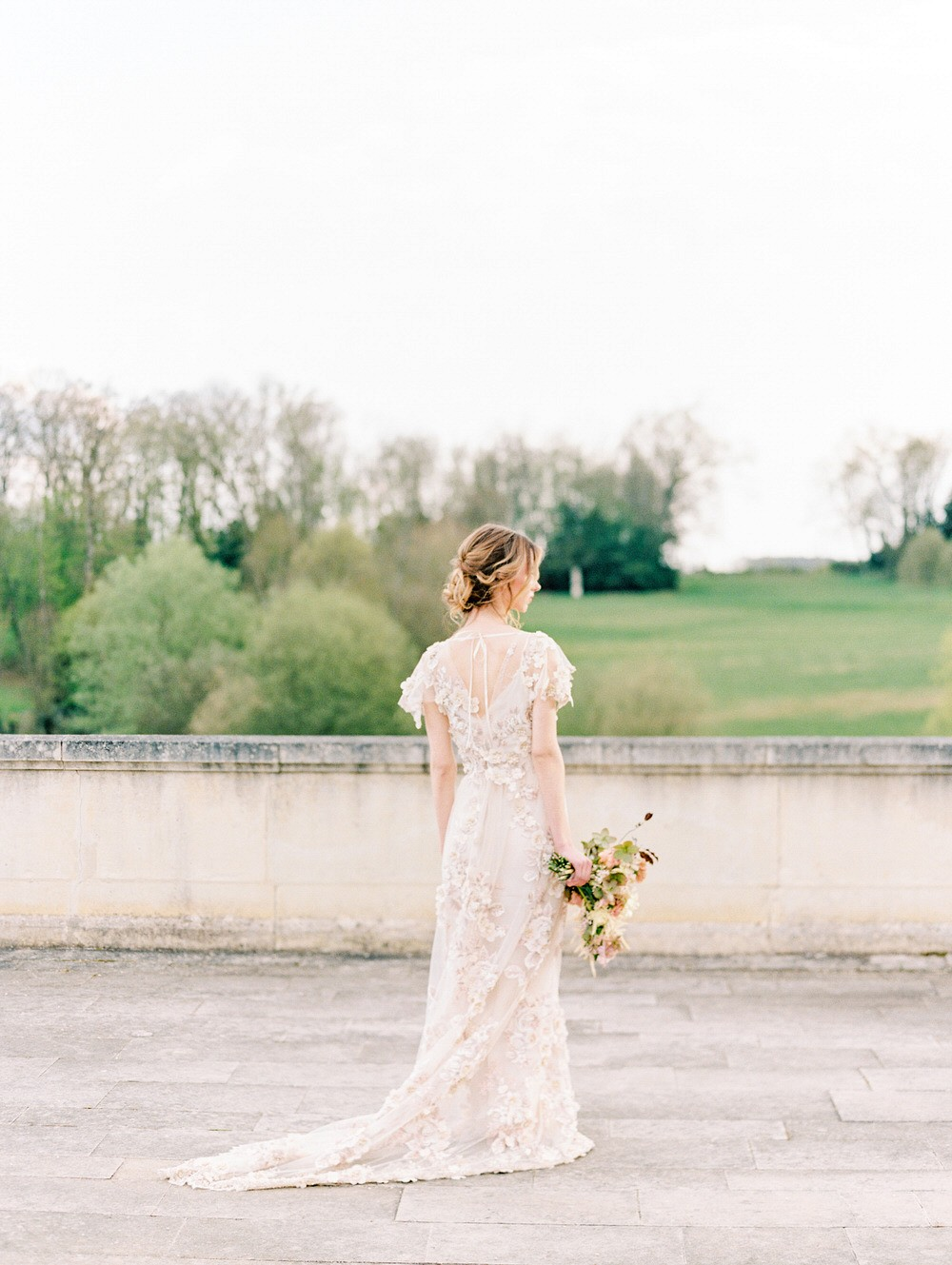 Fairytale destination wedding in France