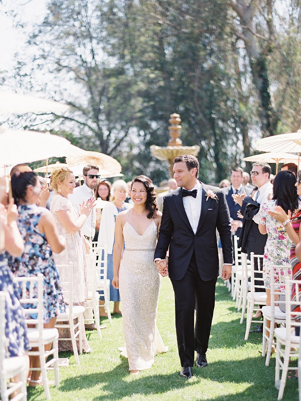 A Chic Garden Wedding in Beverly Hills