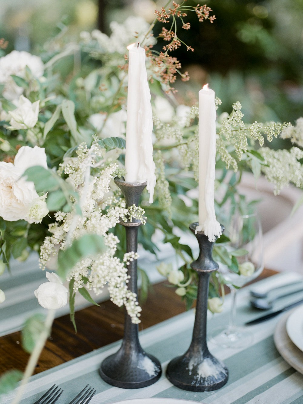 Simple, Understated Garden Wedding Ideas