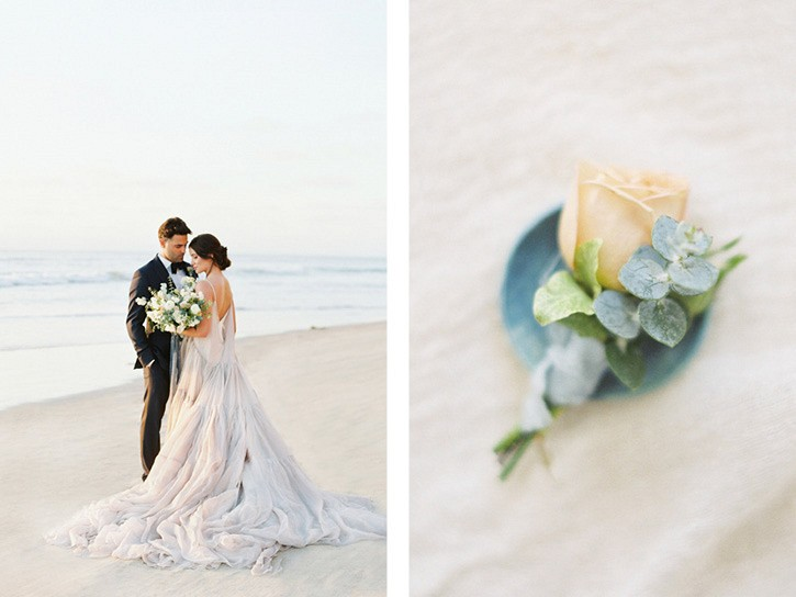 Blue and Gray Coastal Wedding Ideas