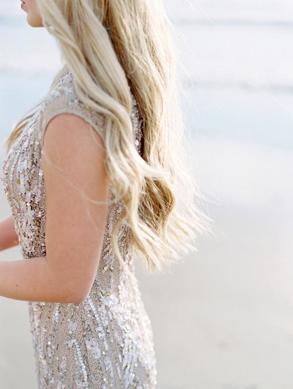 Bridal hair inspiration | Siren of the Sea Coastal Wedding Ideas by Lavender & Twine on Wedding Sparrow