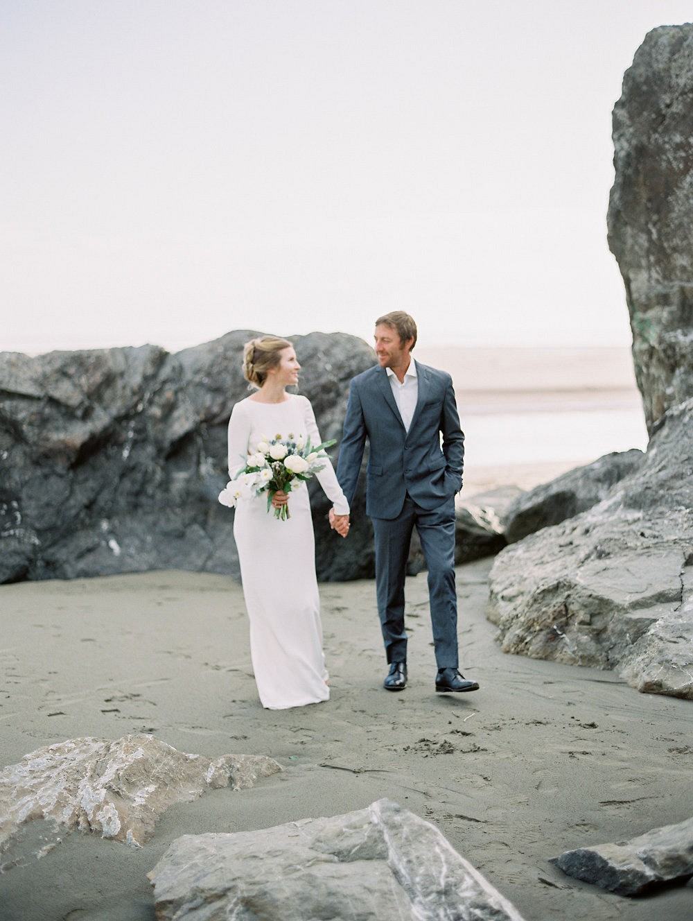 Colleen and Justin's Moonstone Beach Anniversary