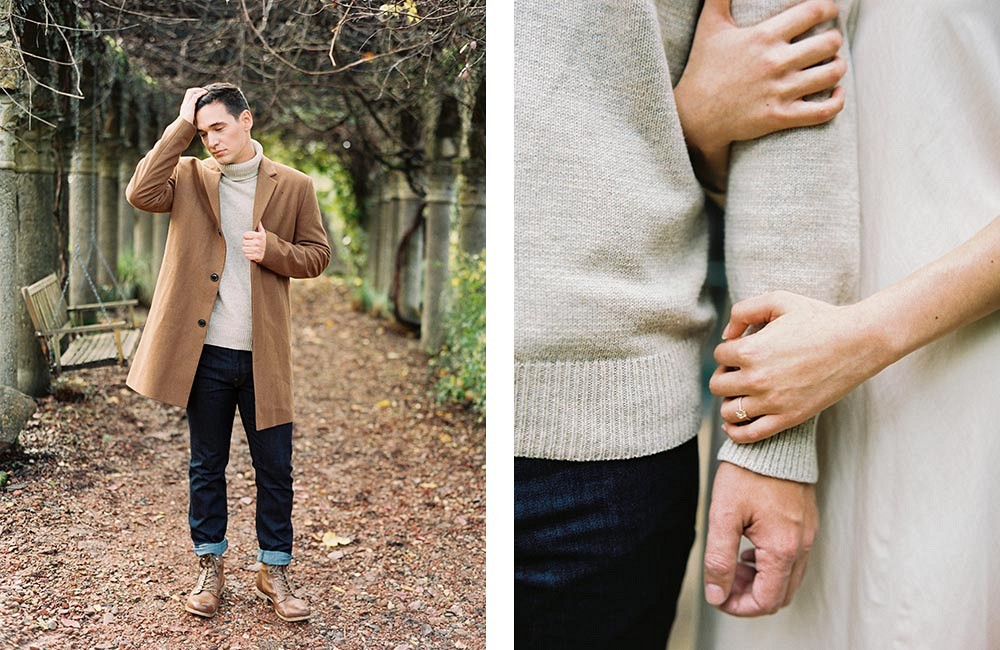 Contemporary Engagement Session and Couples Session by Donny Zavala Photography | Wedding Sparrow