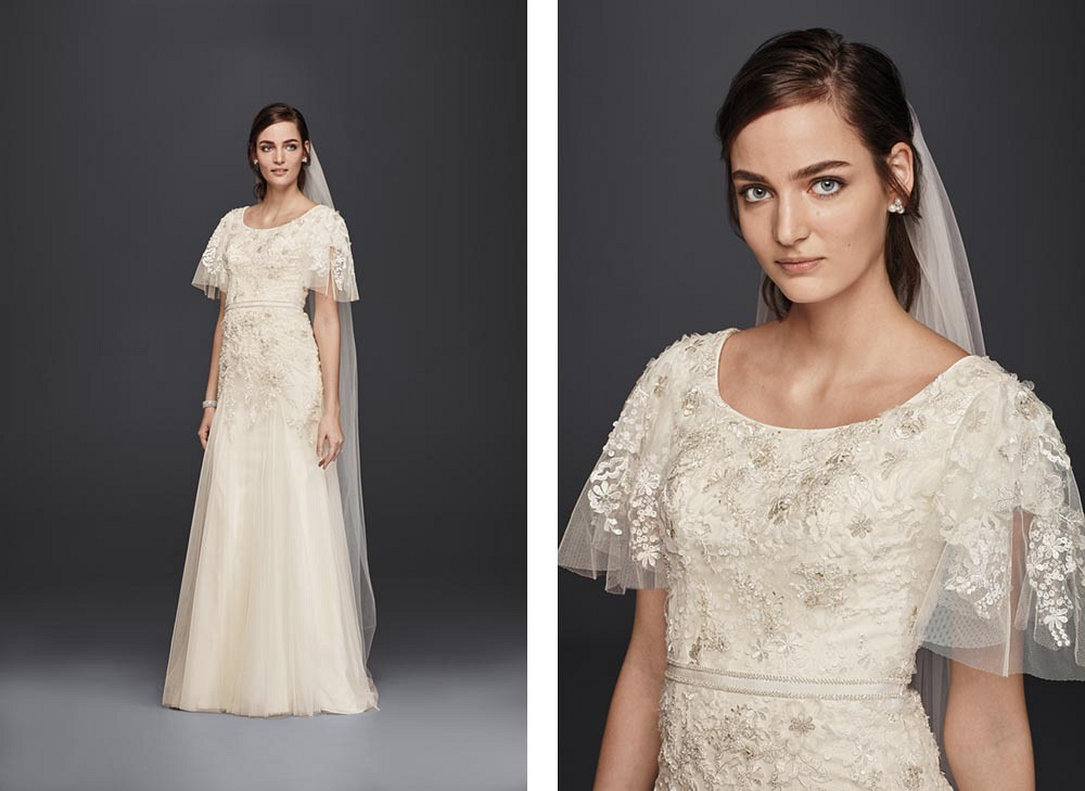 David's Bridal affordable bridal gowns