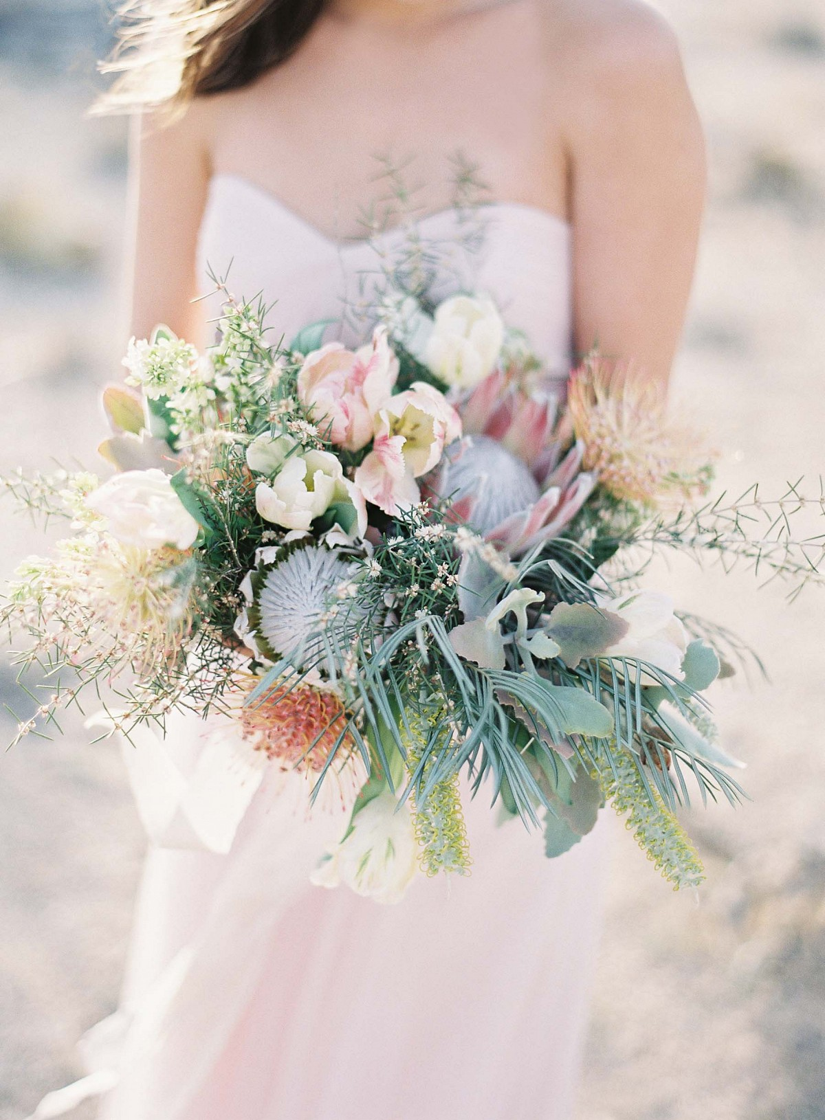 Lush Florals in Joshua Tree