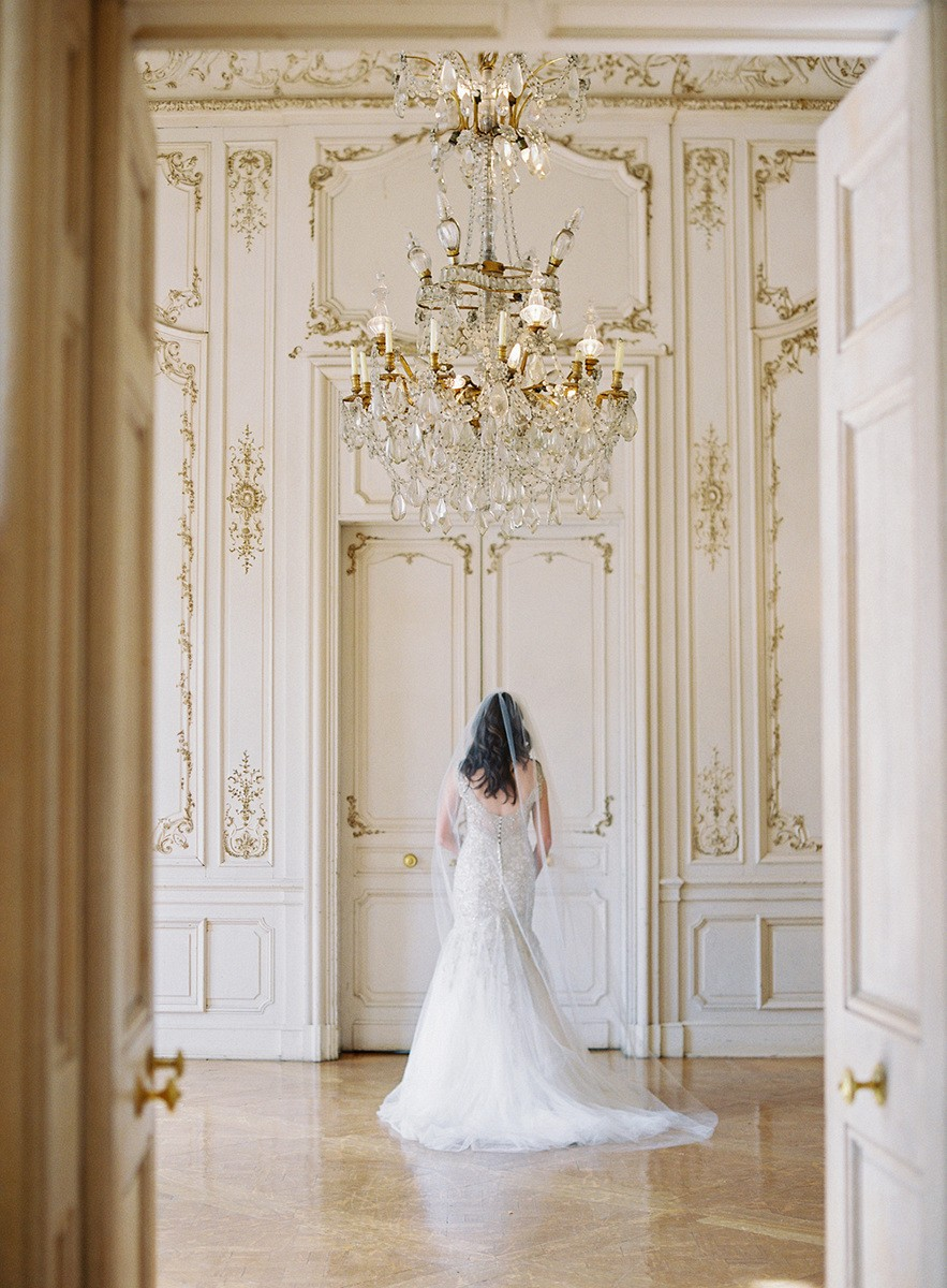 Elegant French Style Wedding Inspiration