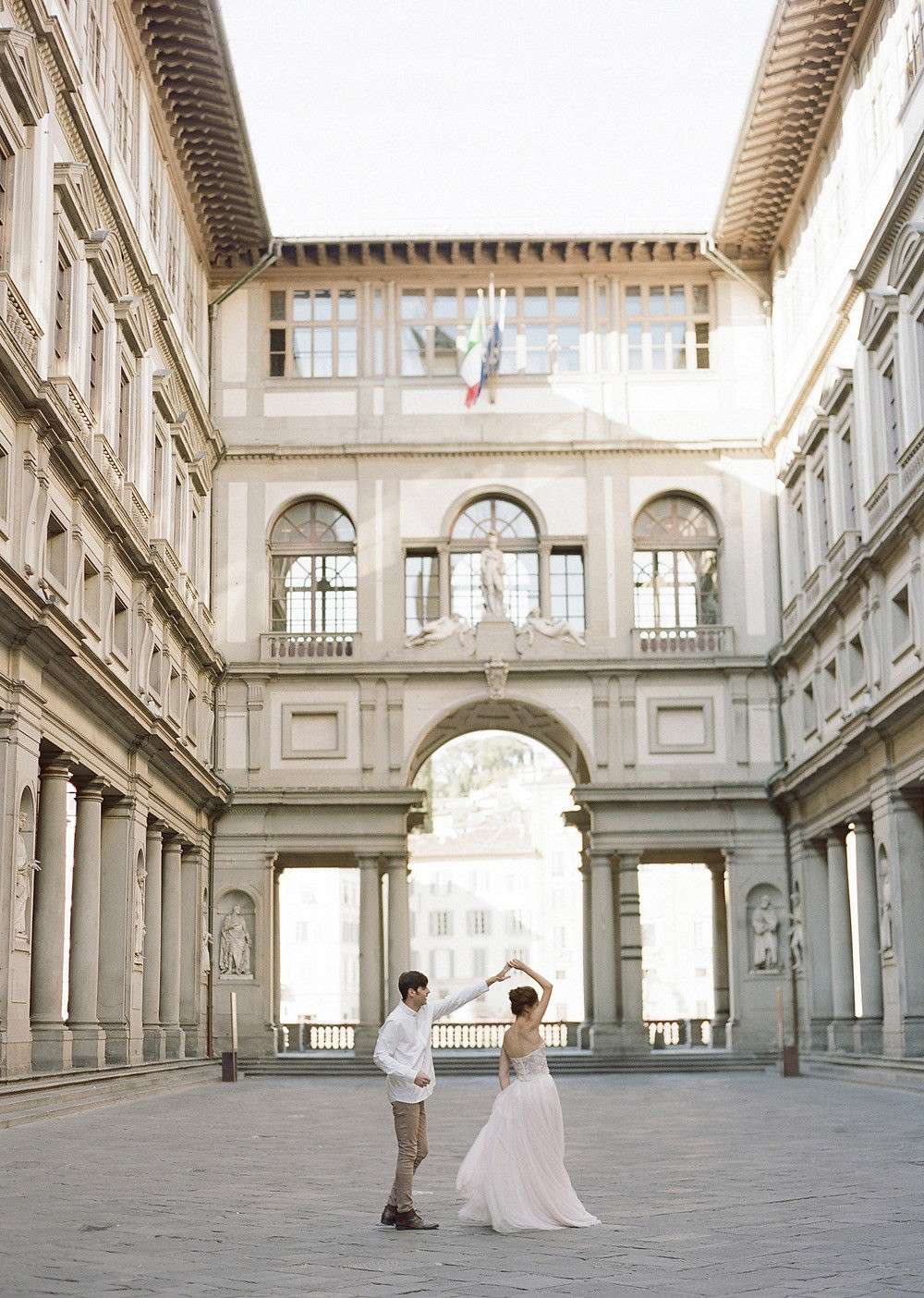 Dreamy Wedding Inspiration with Epic Views of Florence's Duomo