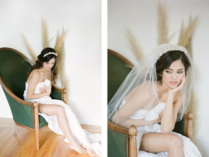 """Something Old"" Vintage Inspired Bridal Session"