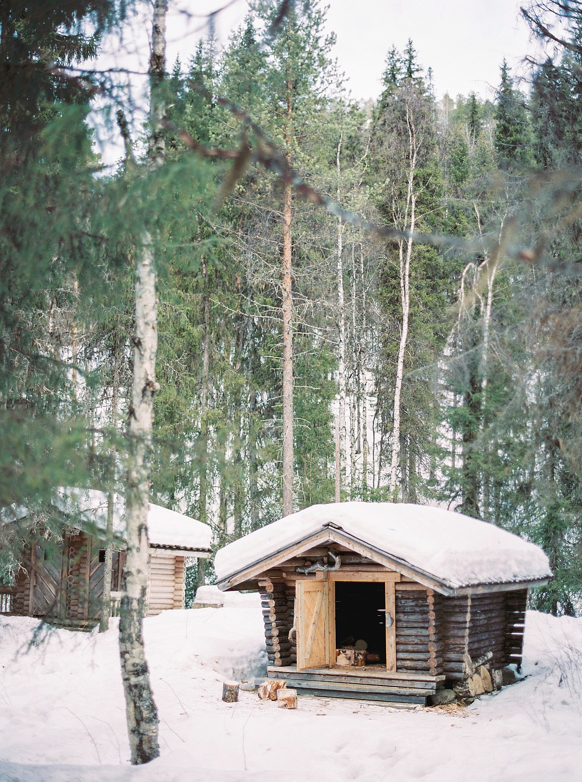 Wintry Honeymoon in Rovaniemi, Finland