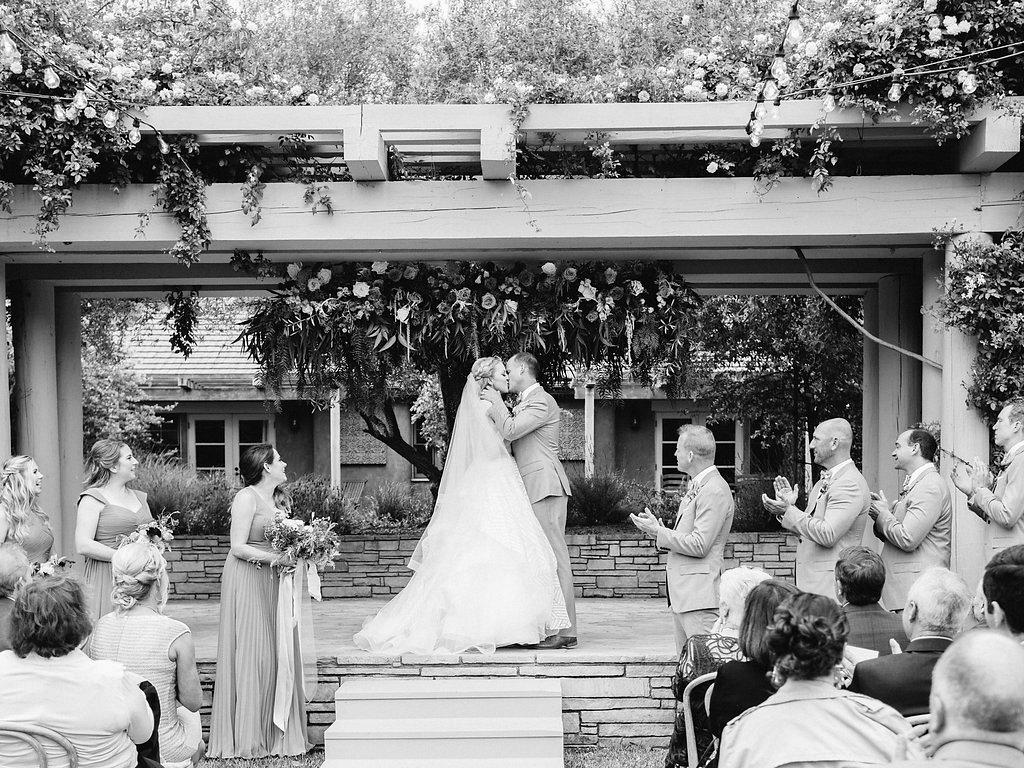 Colorful Romantic Wedding in Carmel Full of Details