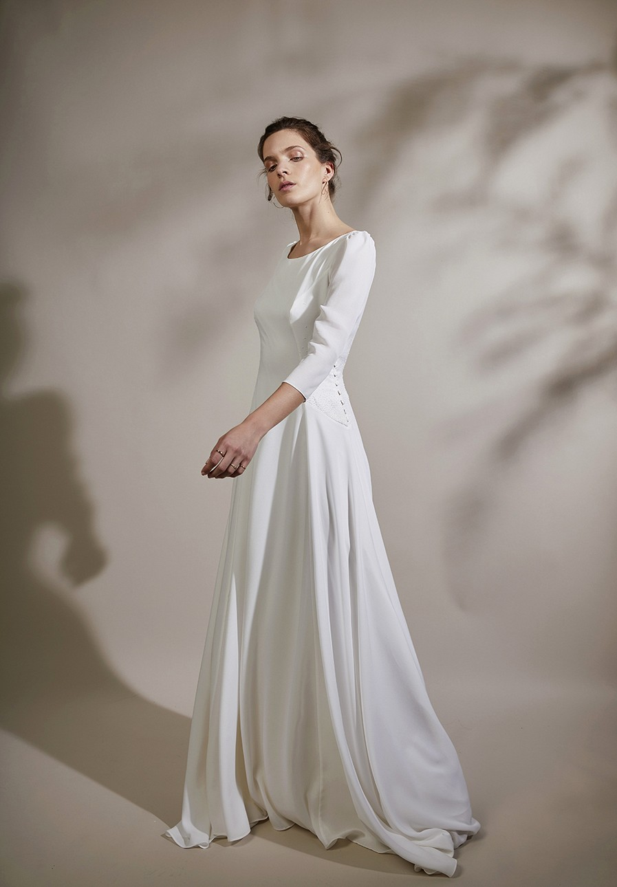 Anne de Lafforest Paris Wedding Dress