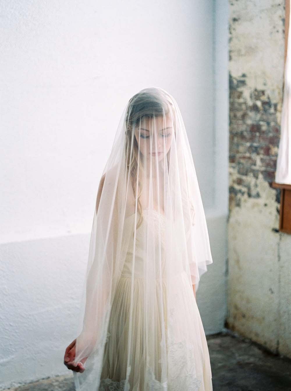 Autumnal Indoor Bridal Session