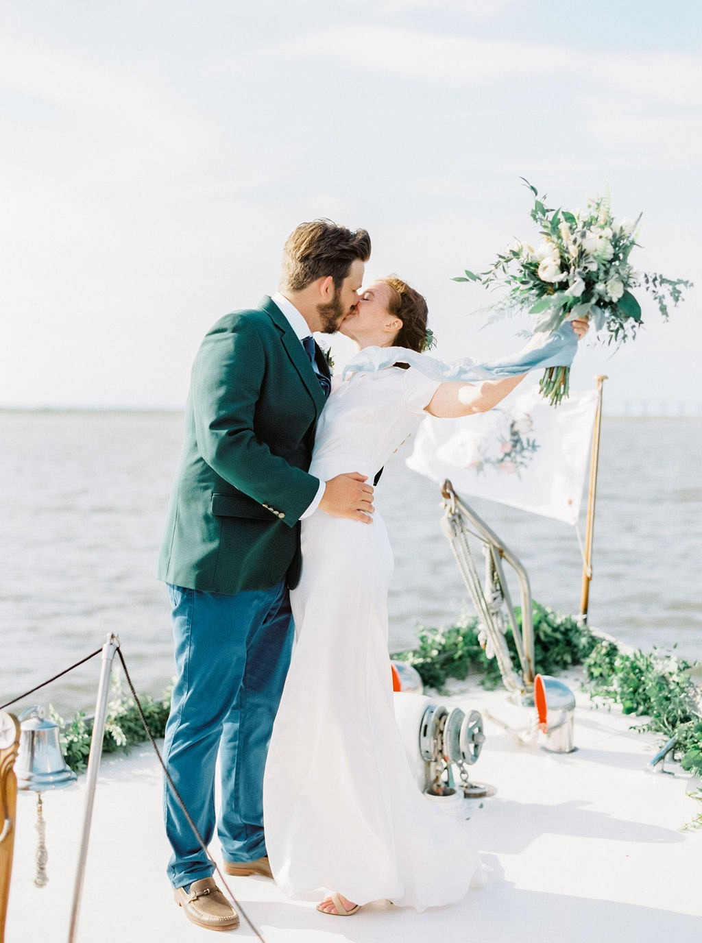 Intimate Wedding Aboard a Yacht