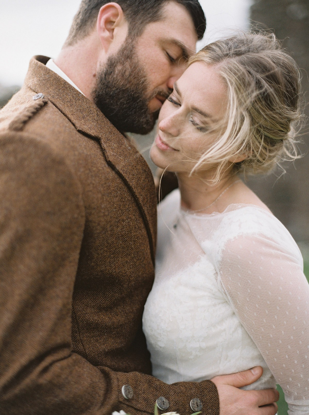 Katie and Mark's Intimate Scotland Wedding