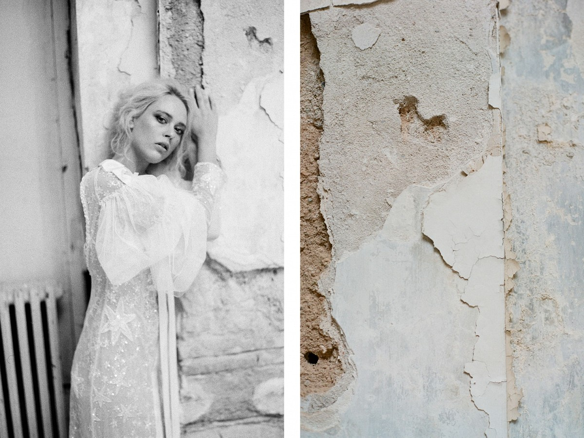 Ghostly Grecian Bridal Inspiration with Sage Green Ideas