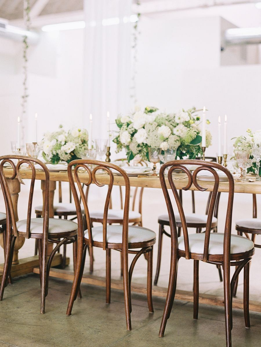 Black Tie Botanical Wedding in LA