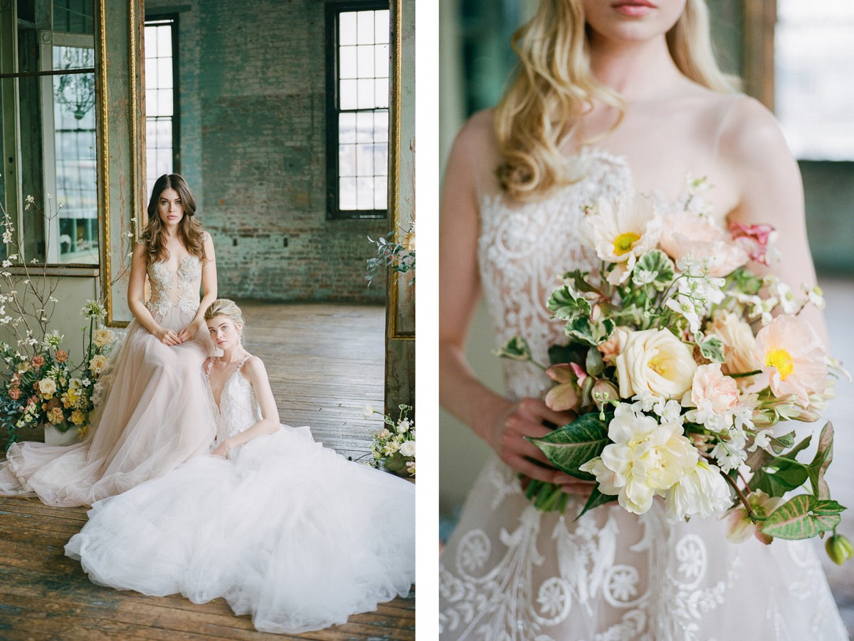 Haunting Style - A dreamy look at blush and bows