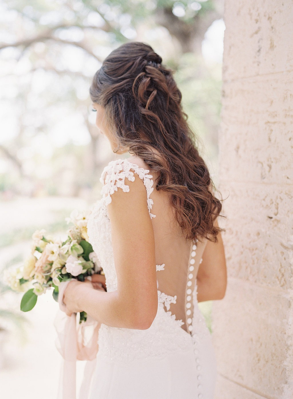 Ashton's Lovely Bridal Session at Vizcaya Museum and Gardens