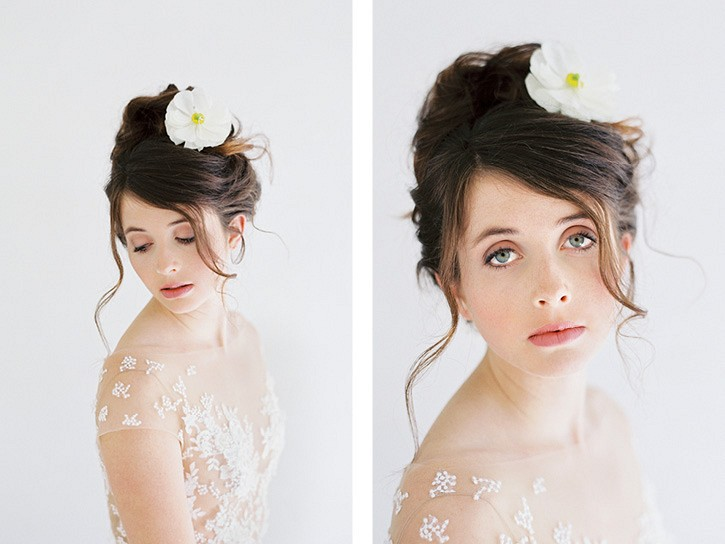 5 Ways to Wear Flowers in Your Wedding Hair