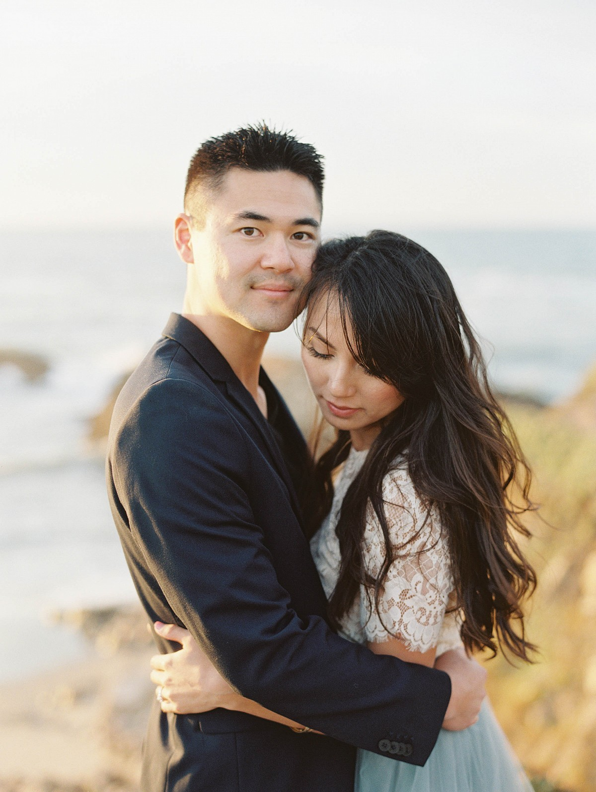 Half Moon Bay Engagement Session with Dogs