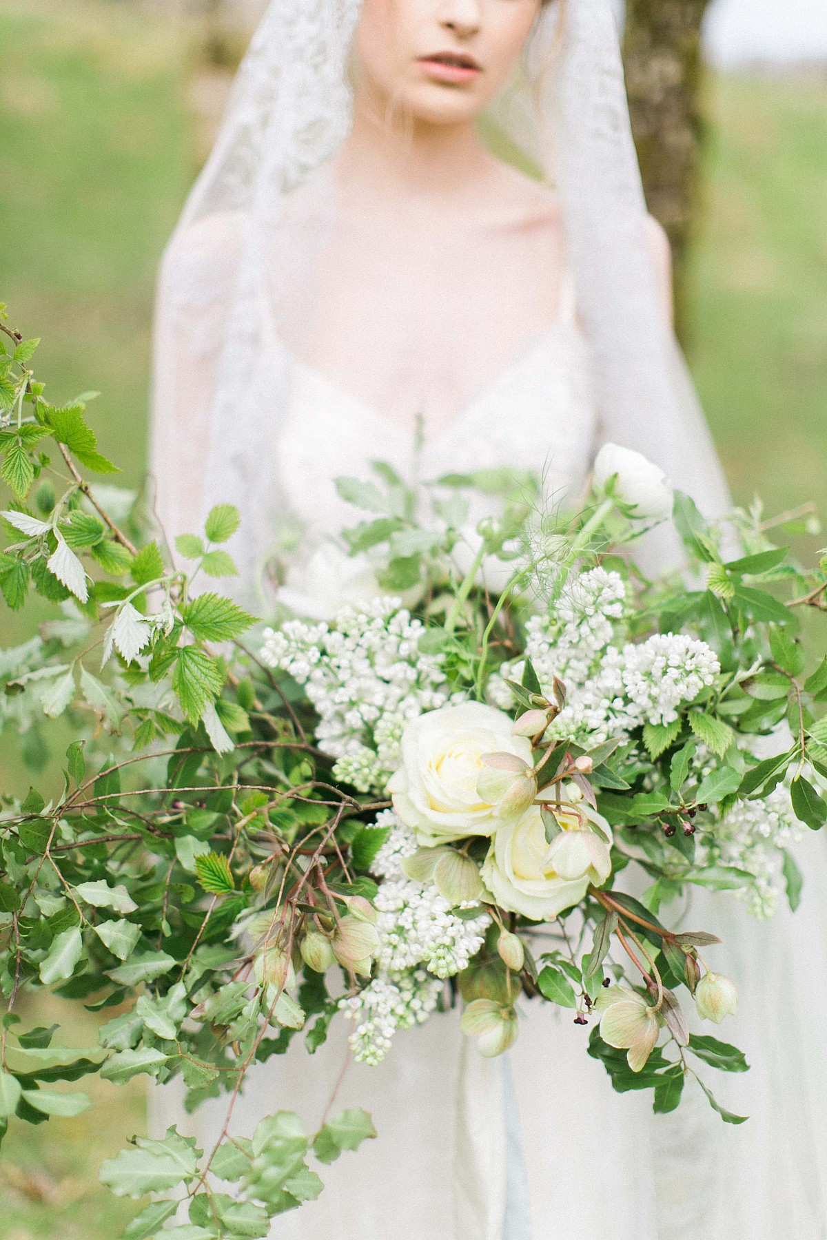 Grey and Natural Green Wedding Ideas