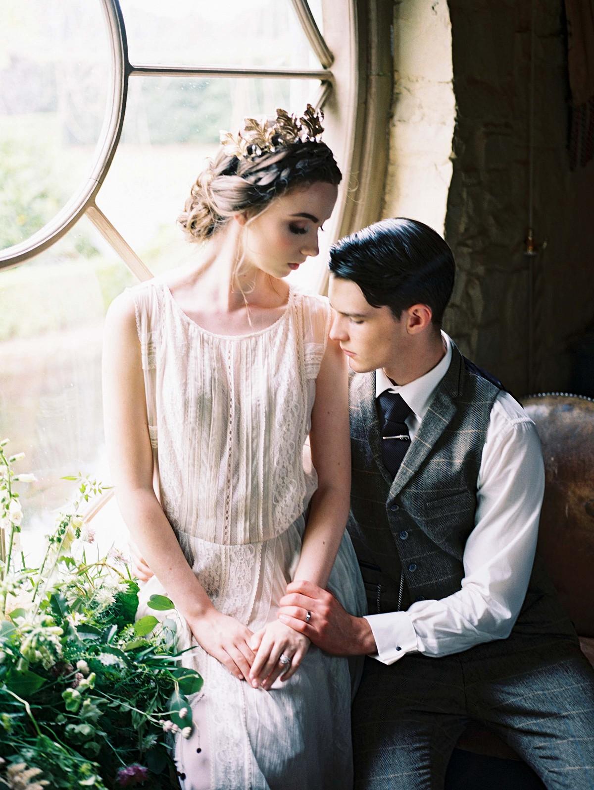 Nostalgic Irish Wedding in Earthy Green tones