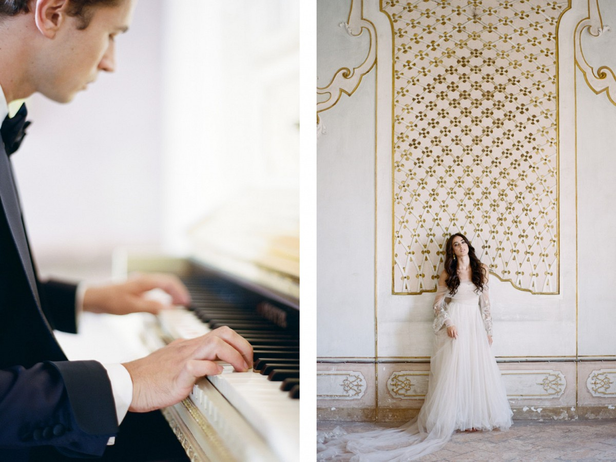 Luxurious and Elegant Italy Wedding Style