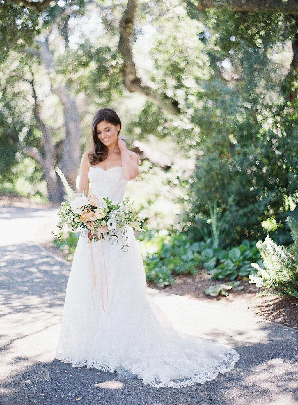 Julie and Joe's Blush and Coral Ranch Wedding