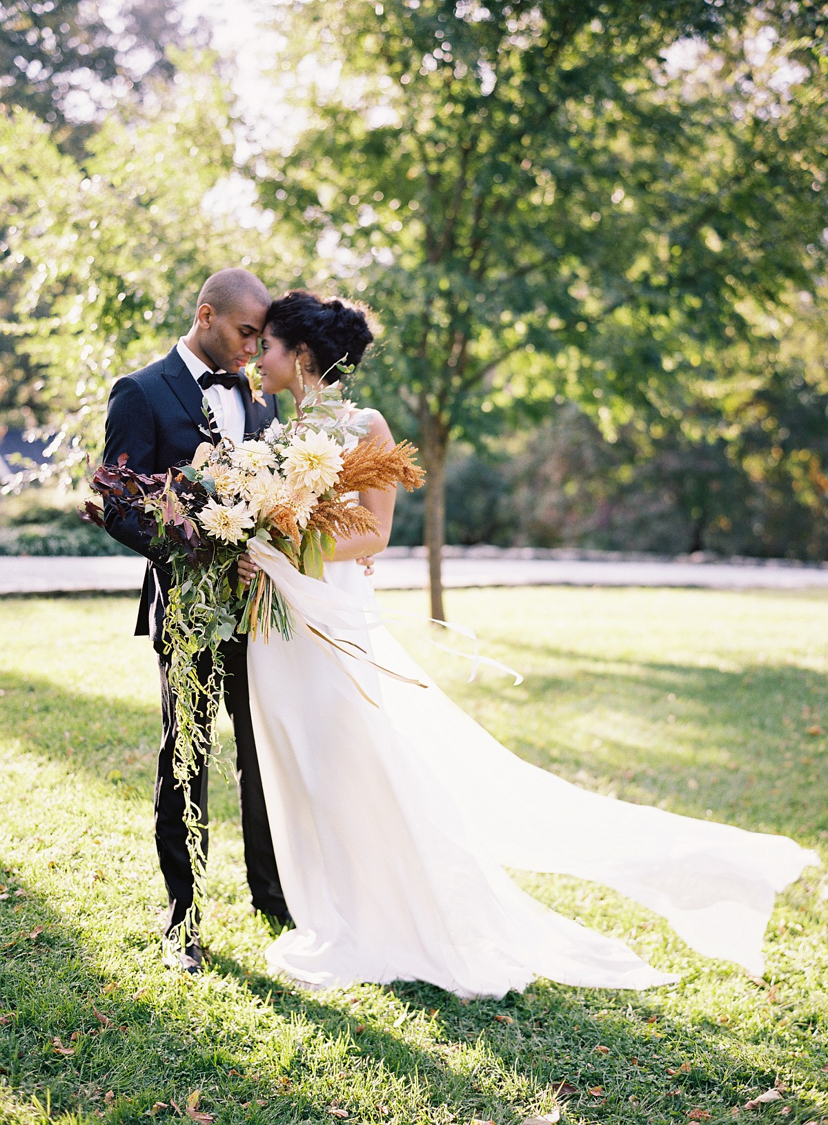 Autumnal Wedding Inspired by Natural Beauty by Joey Kennedy Photography