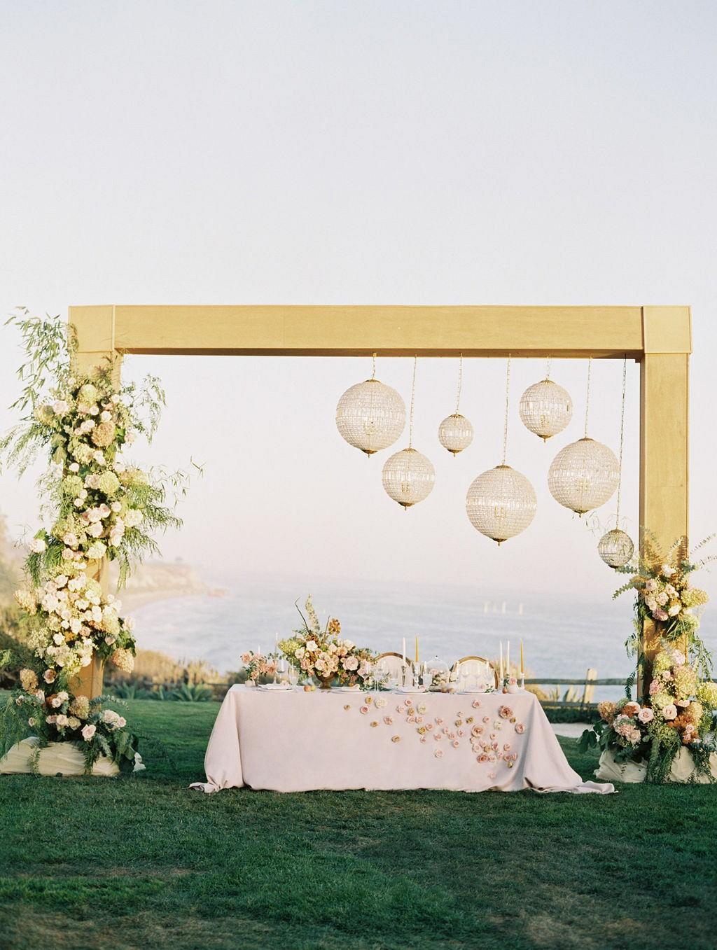 Blush and Copper Wedding Ideas at the Ritz Carlton Bacara